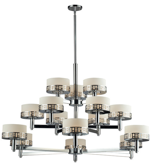 Z-Lite Elea Collection 15 Light Chandelier in Chrome Finish, 328-15-CH