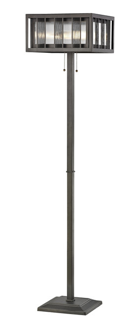 Z-Lite Meridional Collection 3 Light Floor Lamp in Bronze Finish