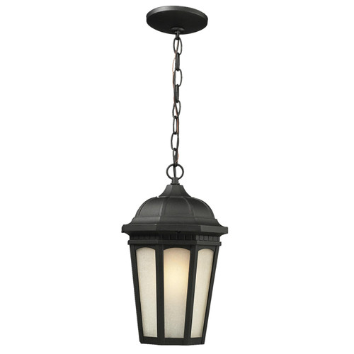 Z-Lite Newport Collection Outdoor Chain Light in Black Finish, 508CHM-BK