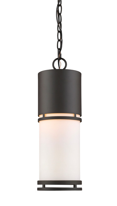Z-Lite Luminata Collection Outdoor LED Chain Hung Light in Deep Bronze Finish, 560CHB-DBZ-LED