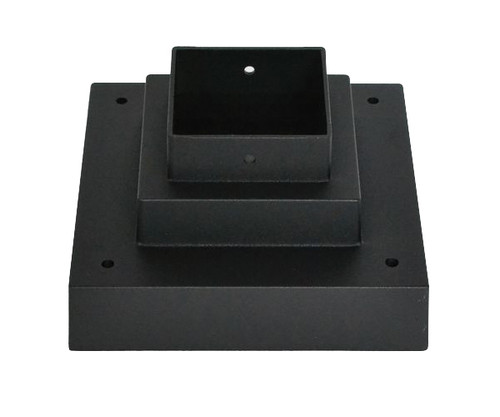 Z-Lite Pier Mounts Collection Outdoor Pier Mount in Black Finish