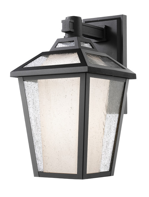 Z-Lite Memphis Outdoor Collection 1 Light Outdoor Wall Light in Black Finish, 532S-BK