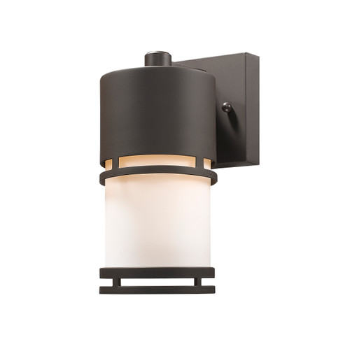 Z-Lite Luminata Collection Outdoor LED Wall Light in Deep Bronze Finish, 560S-DBZ-LED