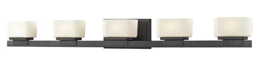 Z-Lite Gaia Collection 5 Light Vanity  in Bronze Finish