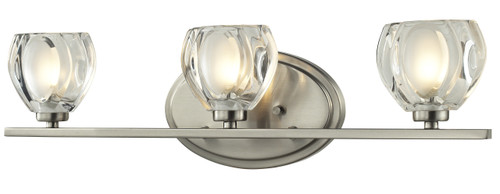 Z-Lite Hale Collection 3 Light Vanity  in Brushed Nickel Finish