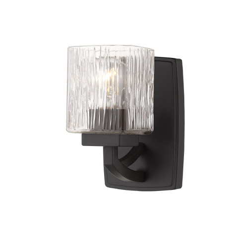 Z-Lite Zaid Collection 1 Light Wall Sconce in Bronze Finish, 1929-1S-BRZ