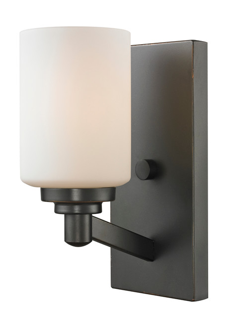 Z-Lite Montego Collection 1 Light Wall Sconce in Coppery Bronze Finish, 411-1S