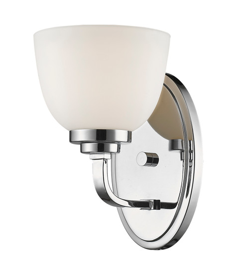 Z-Lite Ashton Collection 1 Light Wall Sconce in Chrome Finish, 443-1S-CH