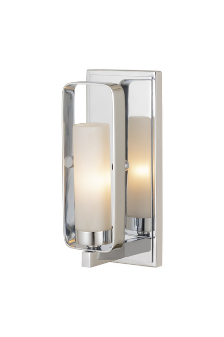 Z-Lite Aideen Collection 1 Light Wall Sconce in Chrome Finish, 6000-1S-CH