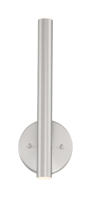 Z-Lite Forest Collection 2 Light Wall Sconce in Brushed Nickel Finish
