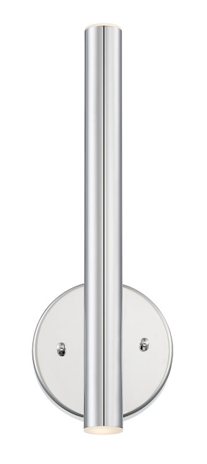 Z-Lite Forest Collection 2 Light Wall Sconce in Chrome Finish