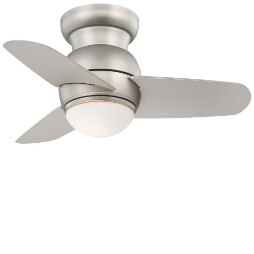 """Minka Aire Spacesaver 26"""" Ceiling Fan with Integrated LED Light Kit & Wall Control"""