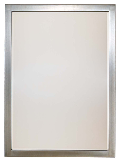 Minka Lavery Paradox Beveled Mirror in Brushed Nickel Finish
