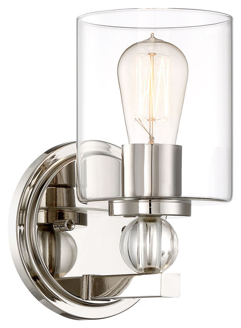 Minka Lavery Studio 5 1 Light Bath in Polished Nickel Finish