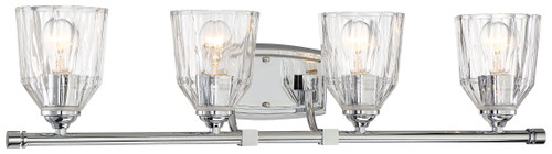 Minka Lavery D'Or 4 Light Bath in Chrome Finish