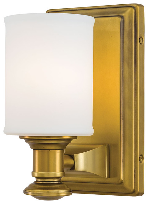 Minka Lavery Harbour Point 1 Light Bath in Liberty Gold Finish