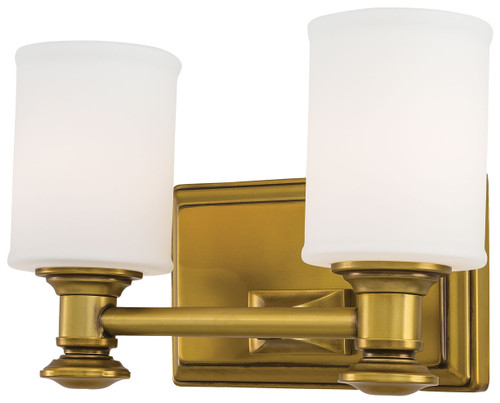 Minka Lavery Harbour Point 2 Light Bath in Liberty Gold Finish