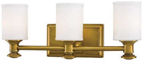 Minka Lavery Harbour Point 3 Light Bath in Liberty Gold Finish