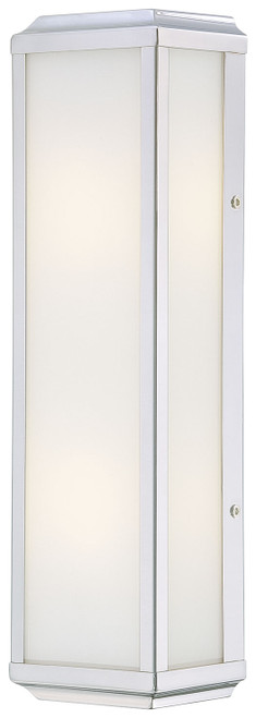 Minka Lavery Daventry 2 Light Bath in Polished Nickel Finish