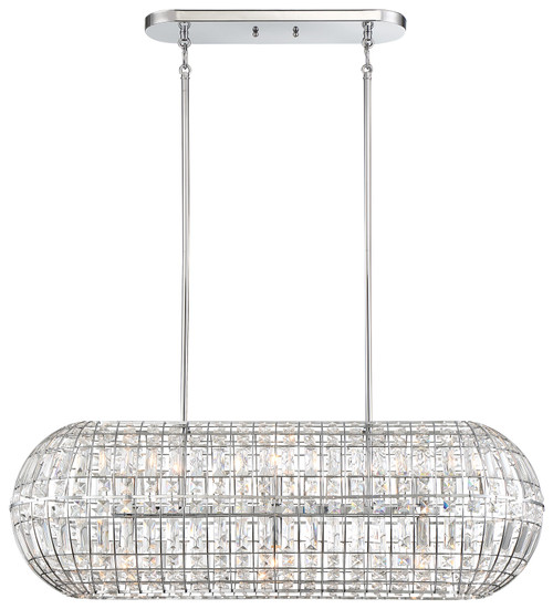 Minka Lavery Palermo 6 Island Light in Chrome Finish