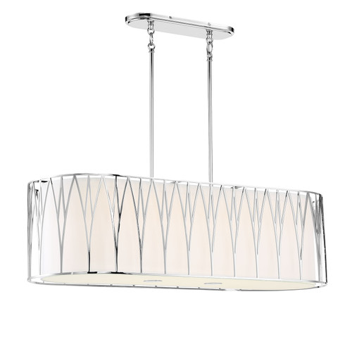 Minka Lavery Regal Terrace Led Pendant in Polished Nickel Finish