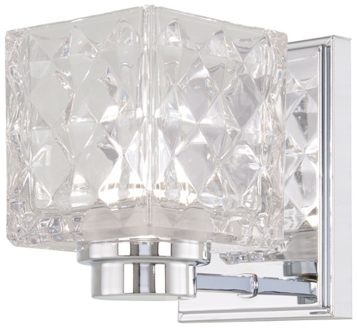Minka Lavery Glorietta 1 Light Bath in Chrome Finish