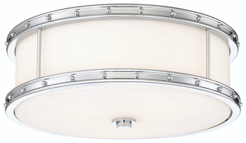 Minka Lavery Flush Mount- 3 Led Light in Chrome Finish