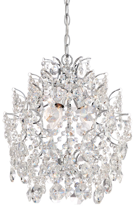 Minka Lavery Isabella'S Crown 3 Light Mini Chandelier in Chrome Finish