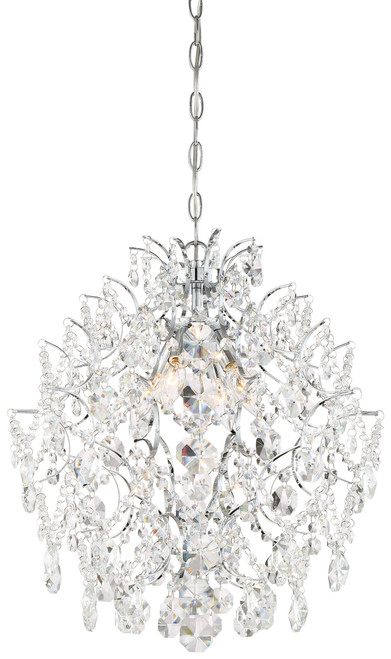 Minka Lavery Isabella'S Crown Mini Chandelier in Chrome Finish