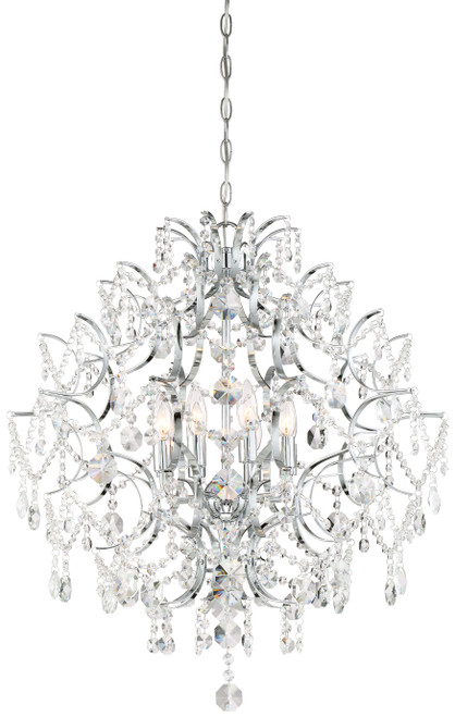 Minka Lavery Isabella'S Crown Chandelier in Chrome Finish