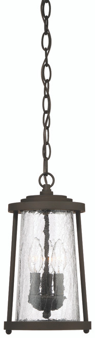 Minka Lavery Haverford Grove 3 Light Chain Hung in Oil Rubbed Bronze Finish