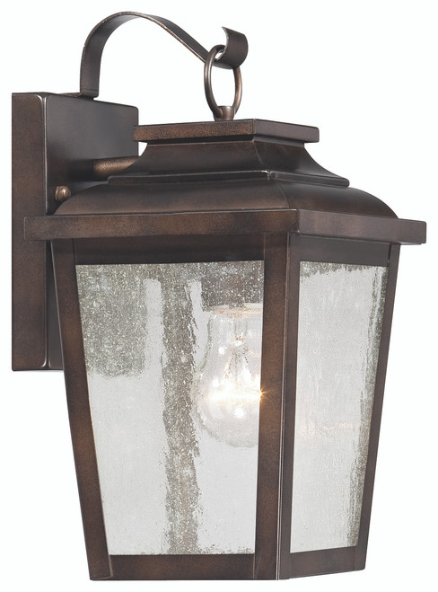 Minka Lavery Irvington Manor 1 Light Wall Mount in Chelesa Bronze Finish