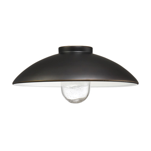 """Minka Lavery Refelctive Lighting By Minka Shade 14"""" in Oil Rubbed Bronze With Gold Highlights Finish"""