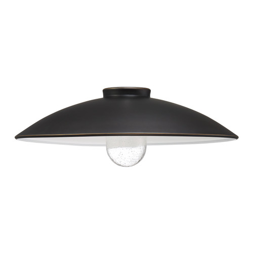 """Minka Lavery Refelctive Lighting By Minka Shade 18"""" in Oil Rubbed Bronze With Gold Highlights Finish"""