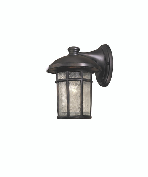 Minka Lavery Cranston 1 Light Outdoor Wall Mount in Heritage Finish