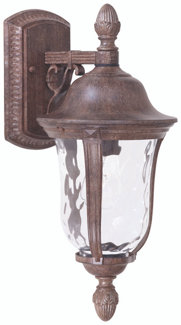 Minka Lavery Ardmore 1 Light Outdoor Wall Mount in Vintage Rust Finish