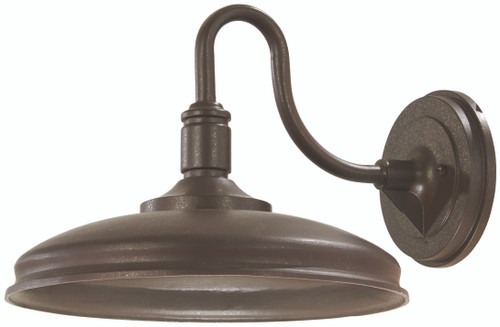 Minka Lavery Harbison Led Outdoor Wall Mount in Bronze With Copper Flecks Finish