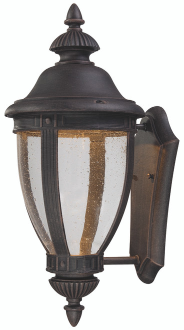 Minka Lavery Wynterfield Led Outdoor Wall Mount in Burnt Rust Finish