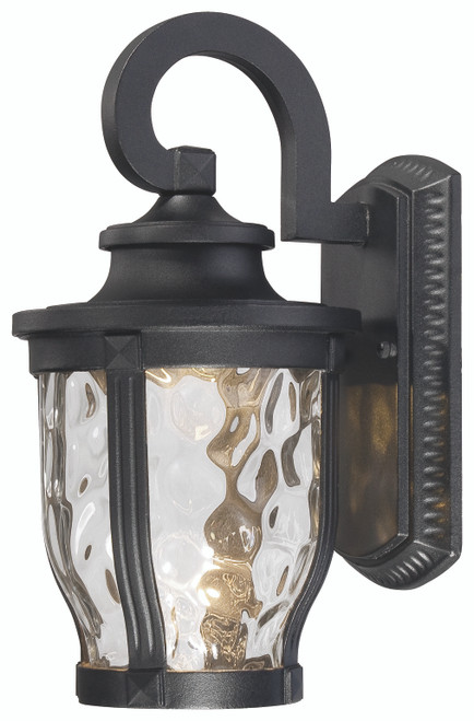 Minka Lavery Merrimack 1 Light Wall Mount in Sand Coal Finish