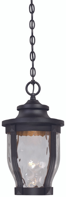 Minka Lavery Merrimack Led Outdoor Chain Hung in Sand Coal Finish