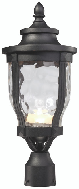 Minka Lavery Merrimack Led Outdoor Post Mount in Sand Coal Finish
