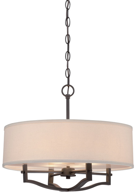 Minka Lavery 3 Light Pendant in Vintage Bronze Finish
