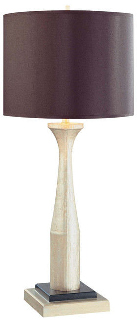 Minka Lavery 1 Light Table Lamp in Antique Silver Finish