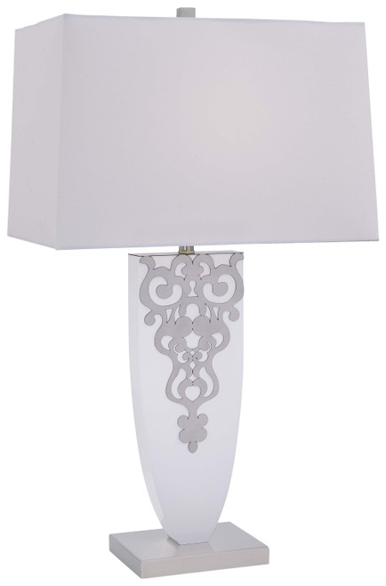 Minka Lavery Table Lamp in Brushed Nickel Finish