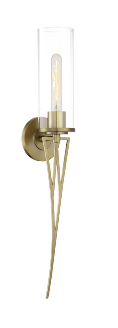 Minka Lavery A Light Wall Sconce in Soft Brass Finish