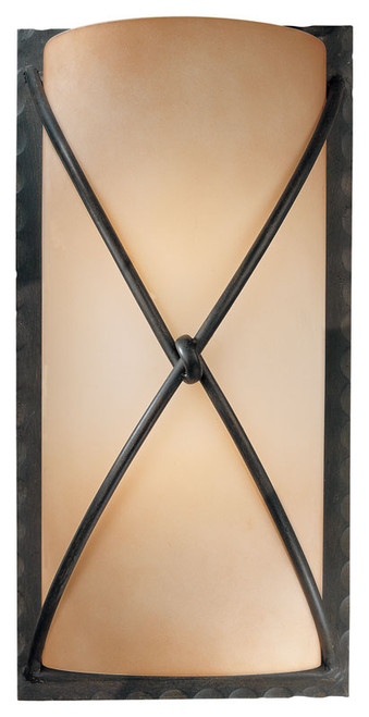 Minka Lavery Aspen Ii 2 Light Wall Sconce in Aspen Bronze Finish