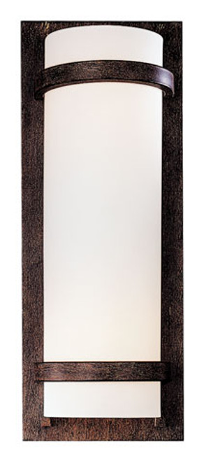 Minka Lavery 2 Light Wall Sconce in Iron Oxide Finish