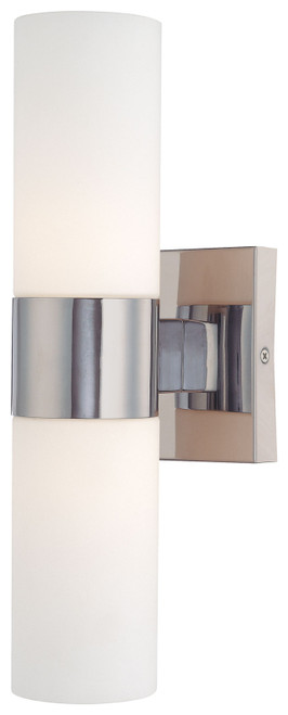 Minka Lavery 2 Light Wall Sconce in Chrome Finish