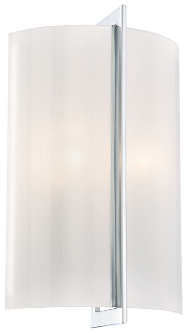 Minka Lavery Clarte 2 Light Wall Sconce in Chrome Finish