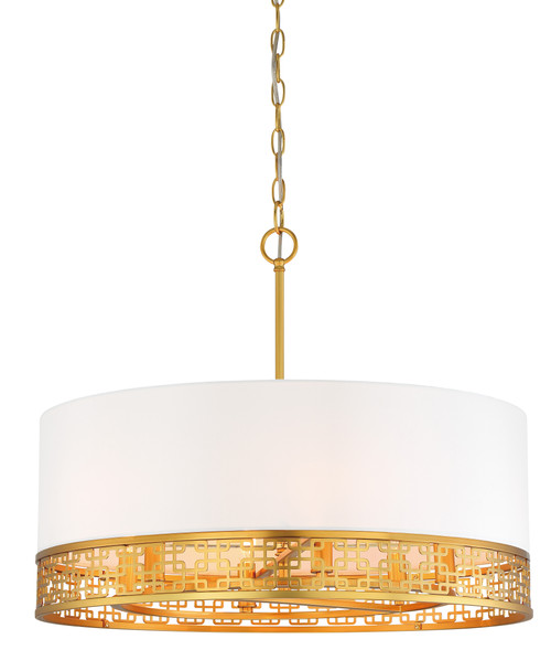 Metropolitan Blairmoor Collection 6 Light Drum Pendant